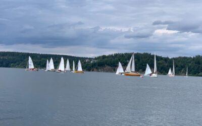Langstrecken-Regatta am 07. August